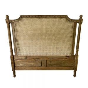 Rattan Bedhead in Natural finish